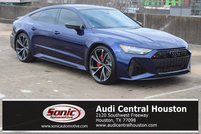New 2021 Audi RS 7 4.0T Sportback for sale in Houston