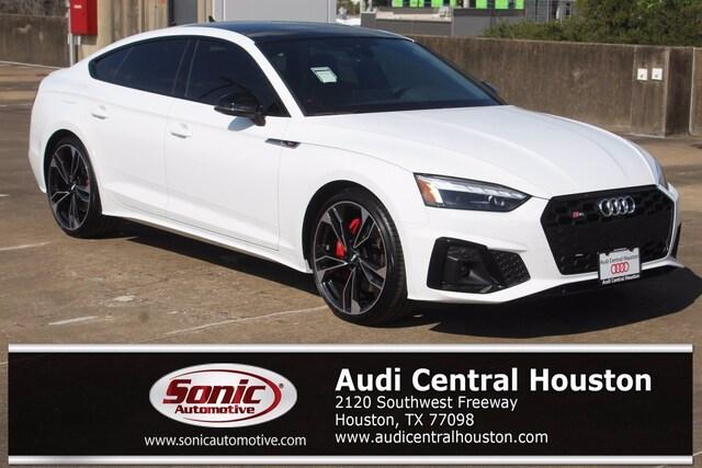 New 2021 Audi S5 3.0T Premium Plus Sportback for sale in Houston