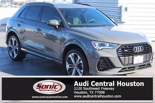 New 2021 Audi Q3 45 S line Premium Plus SUV for sale in Houston