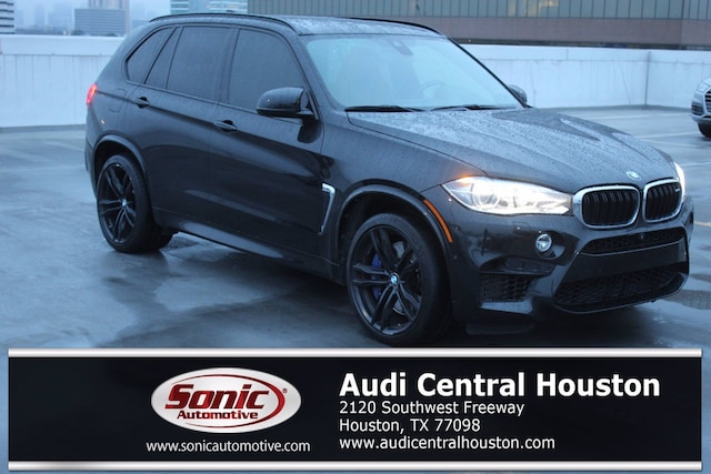 Used 2017 BMW X5 M Sports Activity Vehicle SAV for sale in Houston