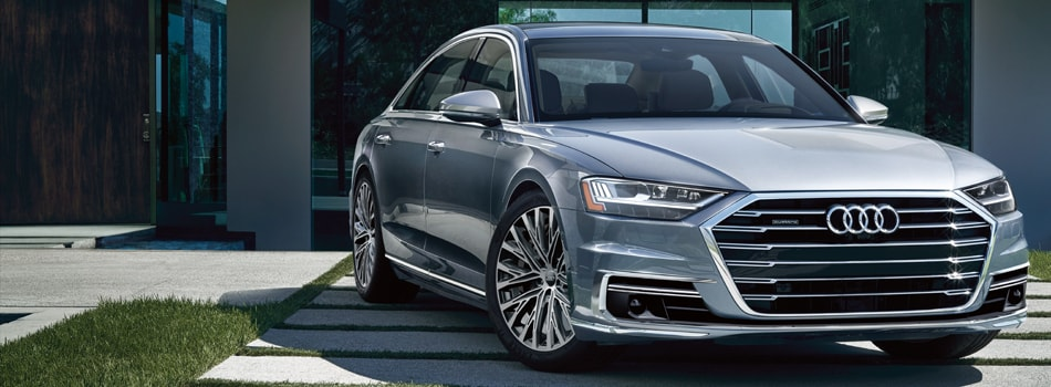 New Audi A8 At Audi Central Houston