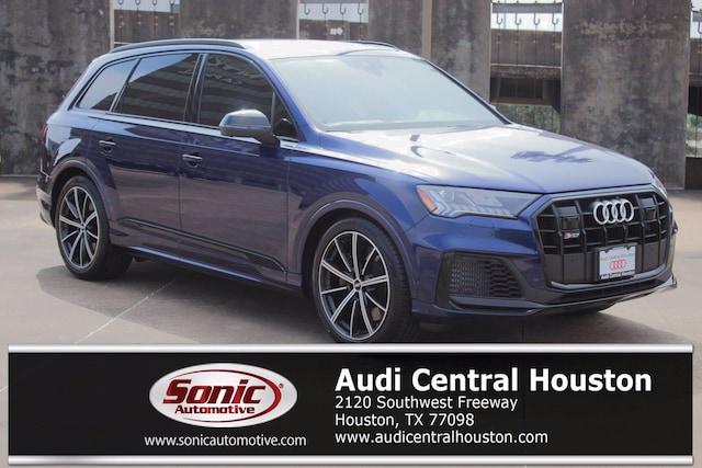 New 2021 Audi SQ7 4.0T Premium Plus SUV for sale in Houston