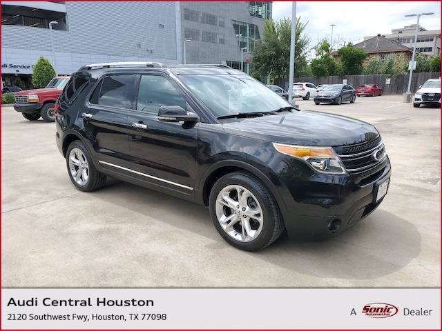 Used 2013 Ford Explorer Limited SUV for sale in Houston