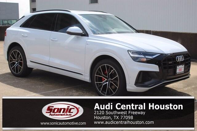 New 2021 Audi Q8 55 Premium Plus SUV for sale in Houston