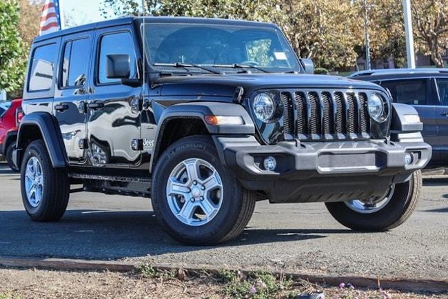 New 2018 Jeep Wrangler UNLIMITED SPORT S 4X4 Sport Utility in Vallejo