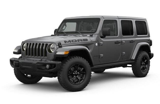 New 2018 Jeep Wrangler UNLIMITED MOAB 4X4 Sport Utility in Vallejo