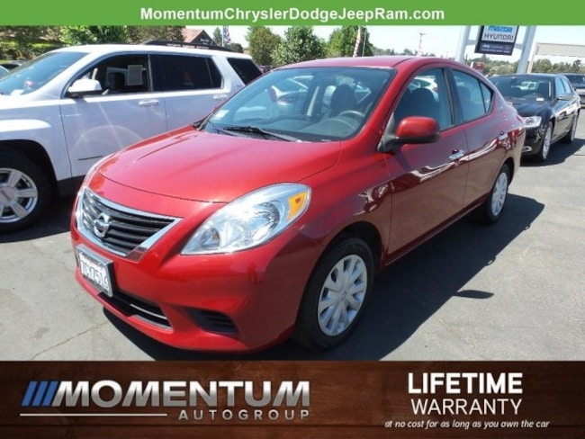 Used 2014 Nissan Versa SV Sedan in Vallejo