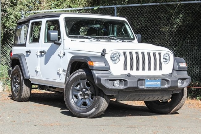 New 2018 Jeep Wrangler UNLIMITED SPORT 4X4 Sport Utility in Vallejo