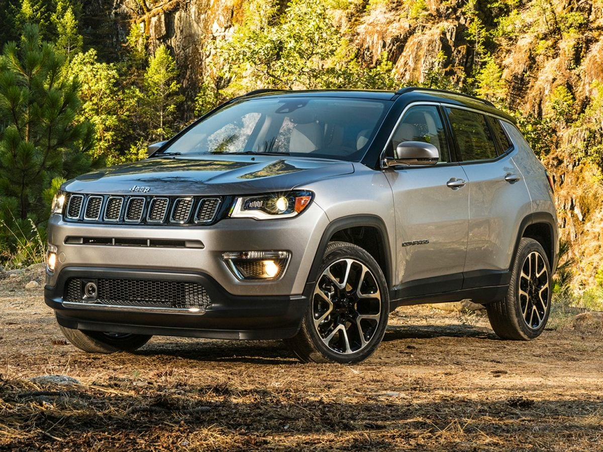 New 2018 Jeep Compass SPORT FWD Sport Utility in Vallejo, CA