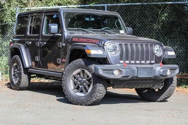 New 2018 Jeep Wrangler UNLIMITED RUBICON 4X4 Sport Utility in Vallejo