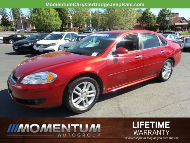 Used 2014 Chevrolet Impala Limited Sedan for sale in Fairfield CA