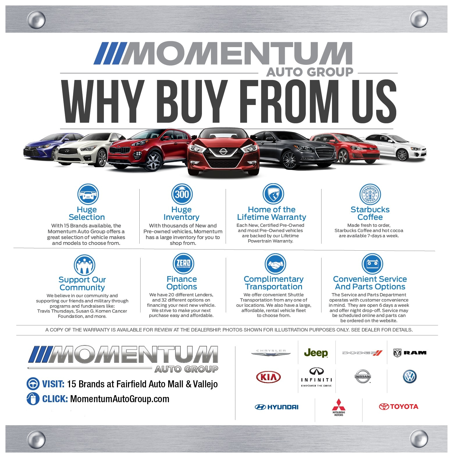 Why Buy New and Used Vehicles From Momentum Chrysler Dodge Jeep Ram ...