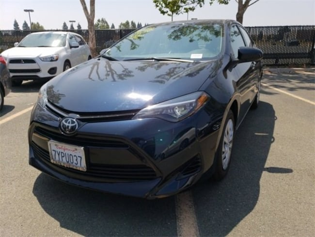 Used 2017 Toyota Corolla LE Sedan for sale in Fairfield CA