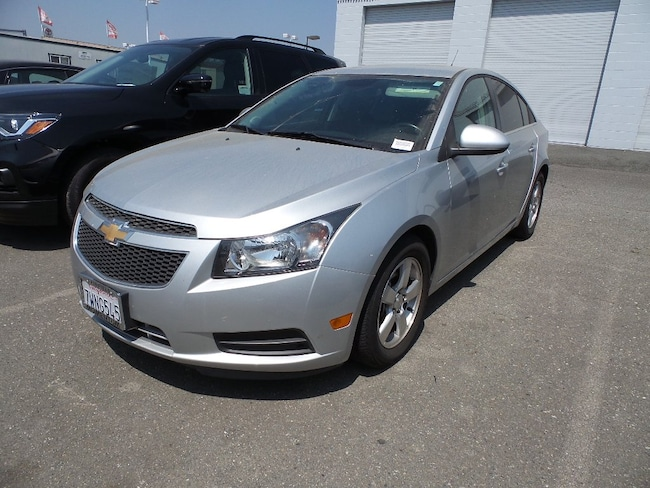 Used 2014 Chevrolet Cruze Sedan for sale in Fairfield CA