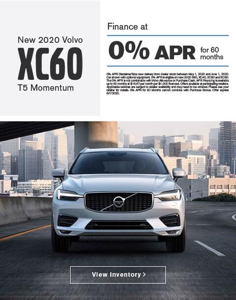 2020 Volvo XC60 Finance Specials