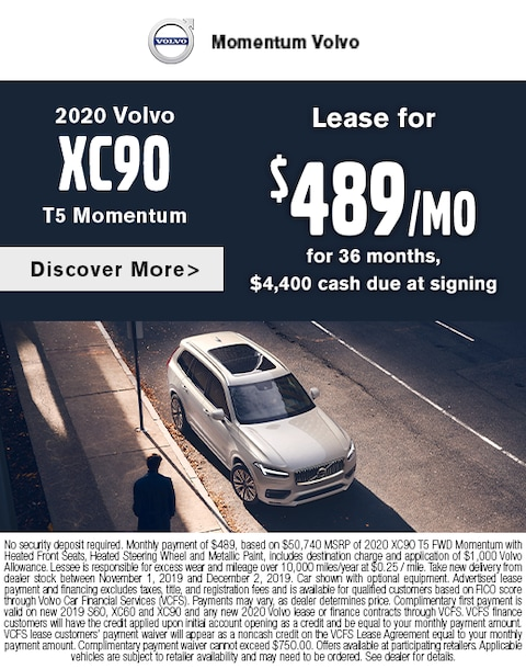2020 XC90 Lease Special