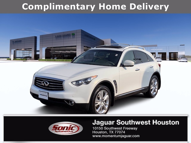Used 2013 INFINITI FX37 AWD 4dr SUV for sale in Houston