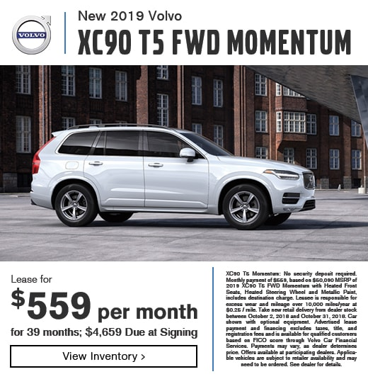 New Car Specials | Momentum Volvo Cars | Houston TX