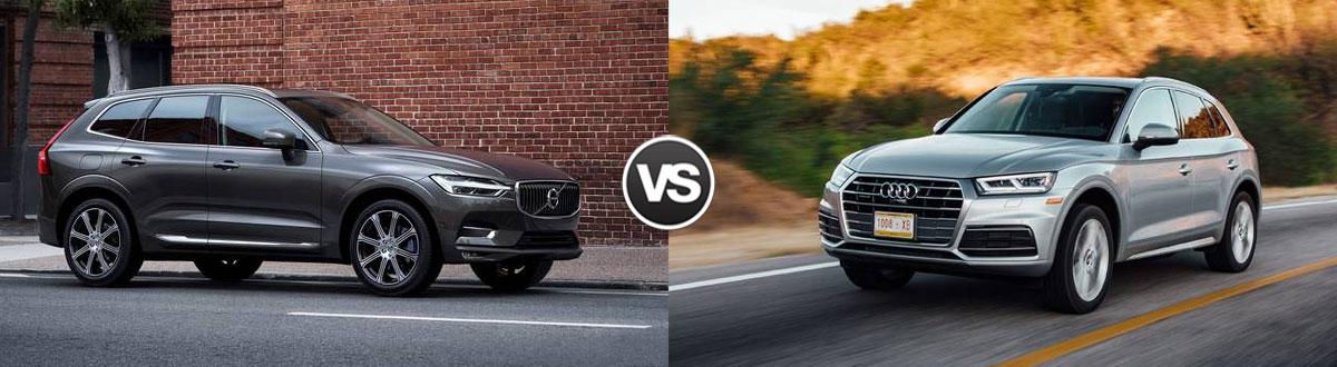 Compare 2019 Volvo Xc60 Vs 2019 Audi Q5 Houston Tx