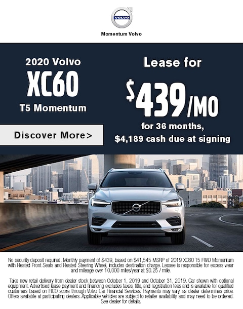 2020 Volvo XC60 Lease Special