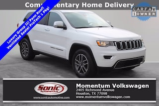 Used 2020 Jeep Grand Cherokee Limited SUV for sale in Houston
