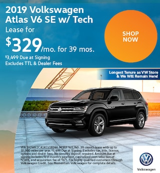 2019 Volkswagen Atlas V6 SE w/ Tech