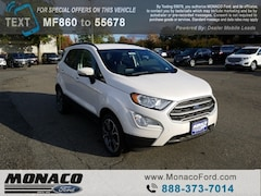 New 2018 Ford EcoSport SE SUV in Glastonbury, CT
