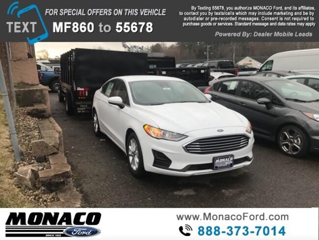 New 2019 Ford Fusion SE Sedan in Glastonbury, CT