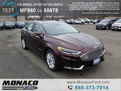 New 2019 Ford Fusion Hybrid SEL Sedan in Glastonbury, CT