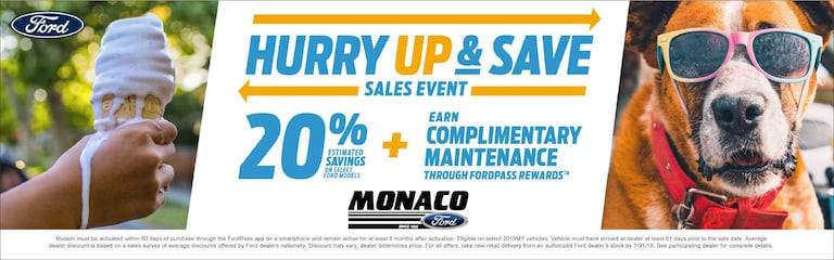 Monaco Ford Dealer: New & Used Cars & Trucks for sale in