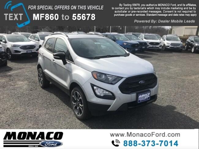 New 2019 Ford EcoSport SES SUV in Glastonbury, CT