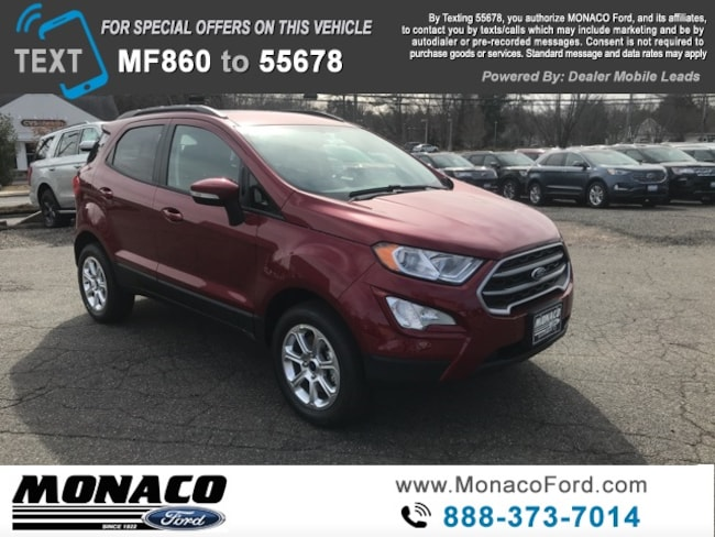 New 2019 Ford EcoSport SE SUV in Glastonbury, CT
