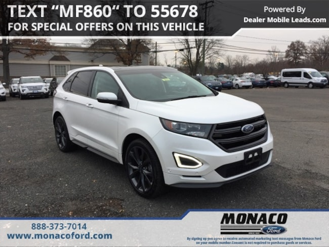 Certified Used 2015 Ford Edge Sport SUV Glastonbury, Connecticut