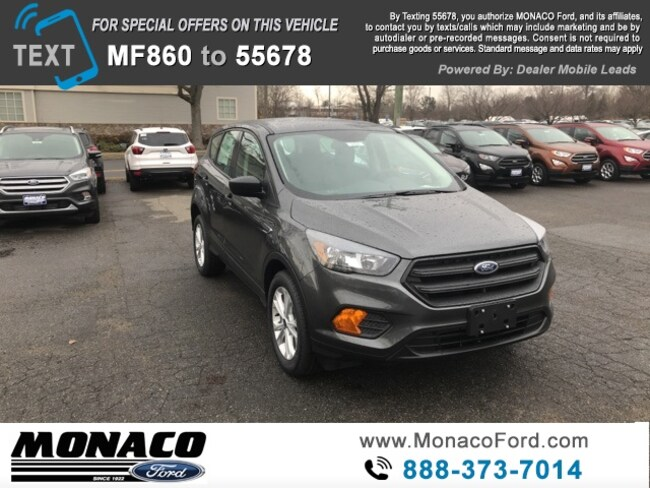 New 2019 Ford Escape S SUV in Glastonbury, CT