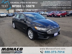 New 2019 Ford Fusion Hybrid SE Sedan in Glastonbury, CT
