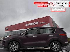 New 2019 Kia Sportage EX - Leather Seats -  Heated Seats - $193.75 B/W SUV KNDPNCAC6K7569522 for sale in Moncton, NB at Moncton Kia