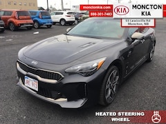 New 2018 Kia Stinger GT Limited - 	Leather Seats - $305.63 B/W Sedan KNAE55LC2J6023818 for sale in Moncton, NB at Moncton Kia