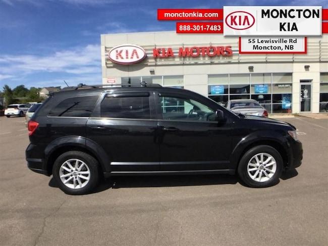 Used 2013 Dodge Journey SXT/Crew SUV Gasoline Automatic [] FWD Black Moncton