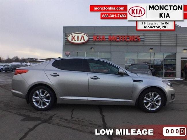 Used 2013 Kia Optima EX+ - Sunroof -  Bluetooth - $135.40 B/W Sedan Gasoline Automatic [] FWD Silver Moncton