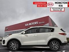 New 2019 Kia Sportage EX - Leather Seats -  Heated Seats - $242.29 B/W SUV KNDPNCAC8K7573894 for sale in Moncton, NB at Moncton Kia