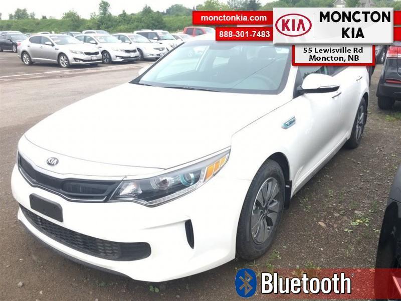 2017 Kia Optima Hybrid LX - Bluetooth -  Heated Seats - $223.03 B/W Sedan Automatic [] 2.0L Snow White Pearl