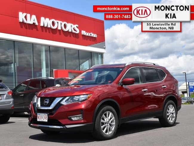 Used 2018 Nissan Rogue - $181.61 B/W SUV Gasoline Automatic AWD/4WD Scarlet Ember Metallic Moncton