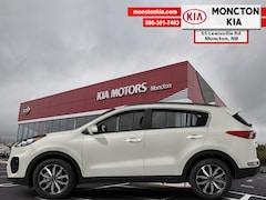 New 2019 Kia Sportage EX - Leather Seats -  Heated Seats - $192.43 B/W SUV KNDPNCAC8K7563589 for sale in Moncton, NB at Moncton Kia