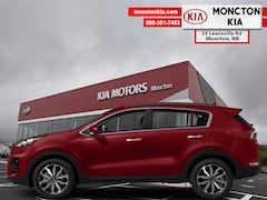 New 2019 Kia Sportage EX - Leather Seats -  Heated Seats - $195.02 B/W SUV KNDPNCAC8K7569148 for sale in Moncton, NB at Moncton Kia