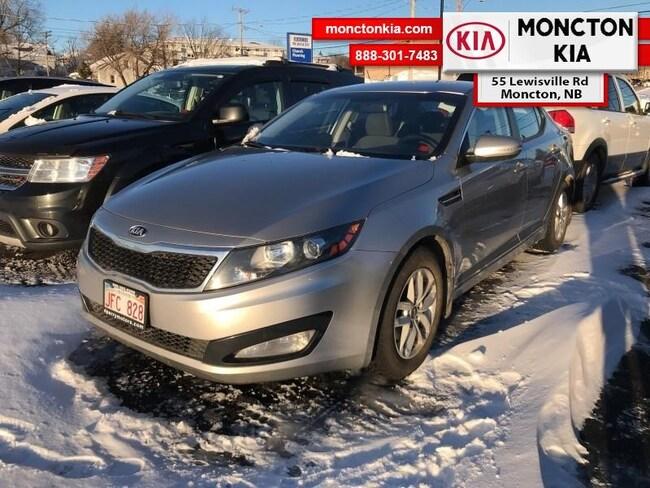 Used 2013 Kia Optima LX - Aluminum Wheels - $71.67 B/W Sedan Gasoline Manual [] FWD Grey Moncton
