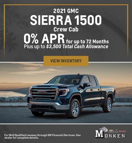 2021 GMC Sierra 1500 Crew Cab