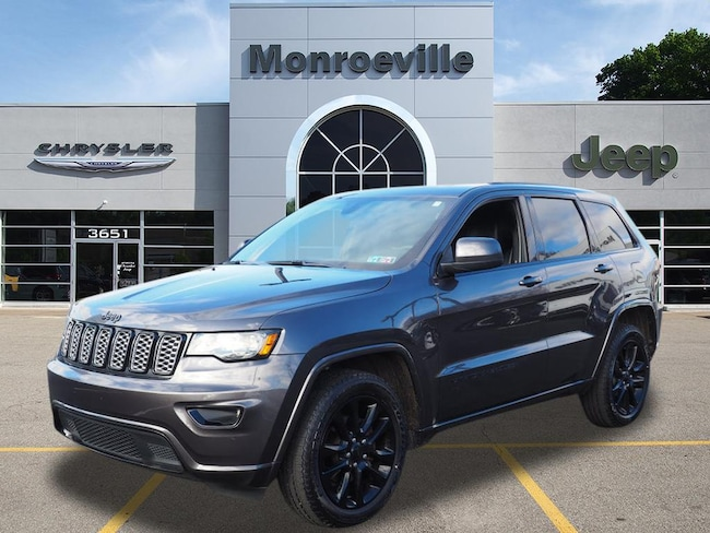 used 2017 jeep grand cherokee laredo 4x4 for sale | monroeville pa