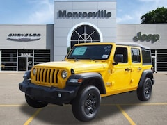 New Chrysler & Jeep 2019 Jeep Wrangler Unlimited Sport 4x4 Sport Utility for Sale in Monroeville, PA