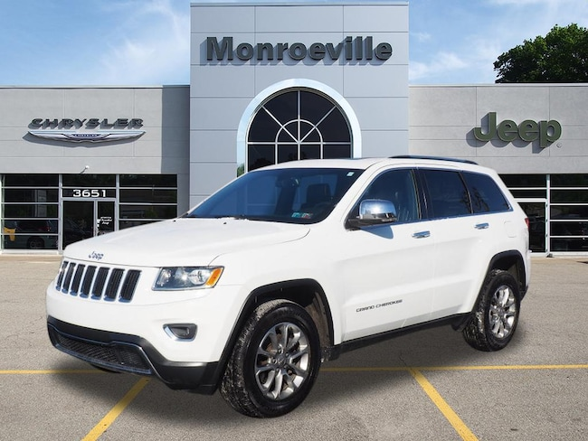 Certified Pre-owned 2015 Jeep Grand Cherokee Limited 4x4 SUV for sale in Monroeville, PA