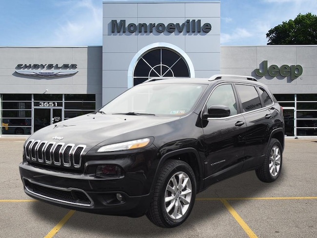 2015 Jeep Cherokee Limited 4x4 SUV